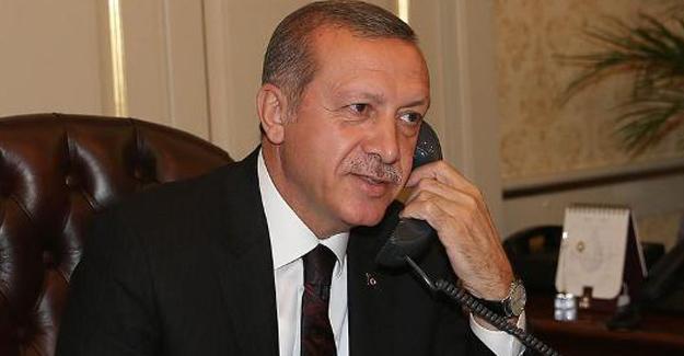 Cumhurbaşkanı Erdoğan'ın Bayram Telefon Trafiği