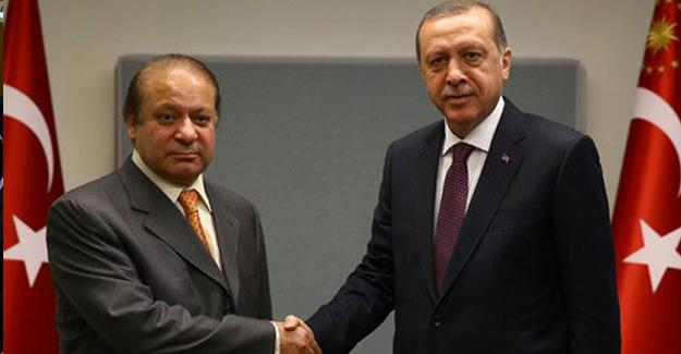 Cumhurbaşkanı Erdoğan, New York'ta Pakistan Başbakanı Şerif'i Kabul Etti