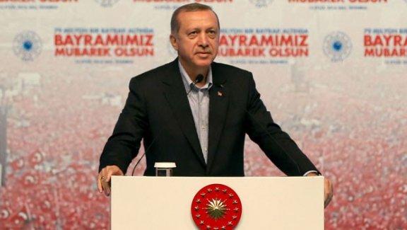 Cumhurbaşkanı Erdoğan: Seçilmiş Olmak Millet Aleyhinde Tasarruf Yetkisini Vermez