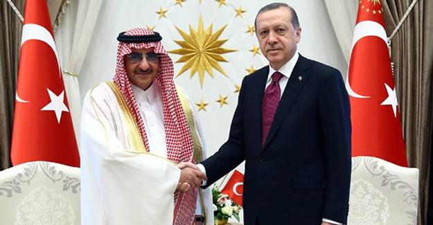 Cumhurbaşkanı Erdoğan Suudi Arabistan Veliaht Prensi Abdülaziz Al Suud'u Kabul Etti
