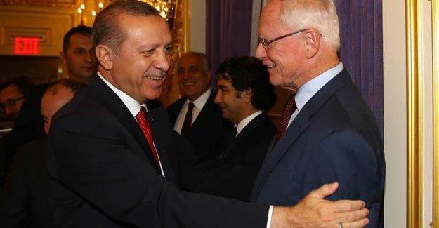 Erdoğan ABD'li Kanaat Önderleriyle Bir Araya Geldi