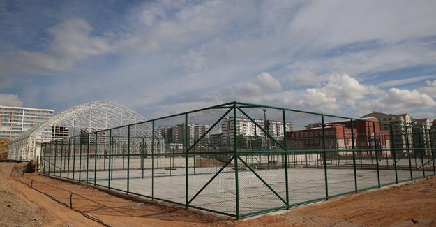 Etimesgut'ta Spor Kompleksi Tamamlanıyor