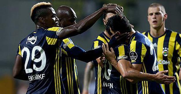 Fenerbahçe İlk Galibiyetini Farklı Aldı