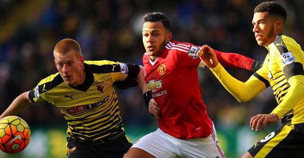 Manchester United, Watford'a 3-1 Mağlup Oldu