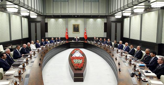 Milli Güvenlik Toplantısı Sona Erdi