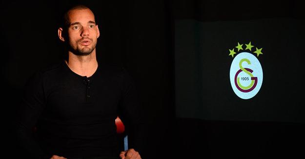 Sneijder: Galatasaray İle Özel Bir Bağım Var