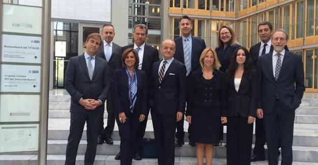 TÜSİAD Almanya'da İş Dünyasına 15 Temmuz'u Anlattı