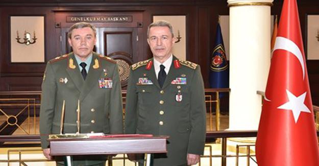 Valeri Gerasimov, Akar Görüşmesi Olumlu Geçti