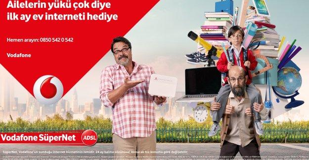 Vodafone'dan Okula Dönüş Döneminde Bütçeleri Sarsmayan Ev İnterneti ve Tablet