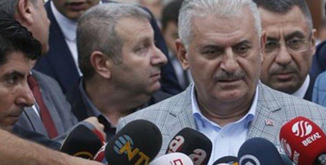 Başbakan Yıldırım: Irak'ın Önce Terör Örgütlerini Zapturapt Altına Alması Lazım