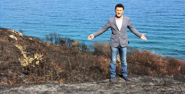 CHP'li Sarıbal: Mudanya Ketendere'de Yangında Zarar Gören Alanı İnceledi