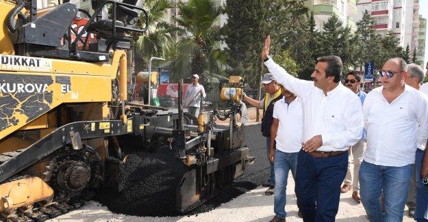Çukurova Belediye Başkanı Çetin: Gece Gündüz Çalışmaları Sürdürüyoruz