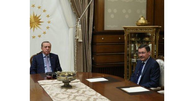 Cumhurbaşkanı Erdoğan, Melih Gökçek'i Kabul Etti