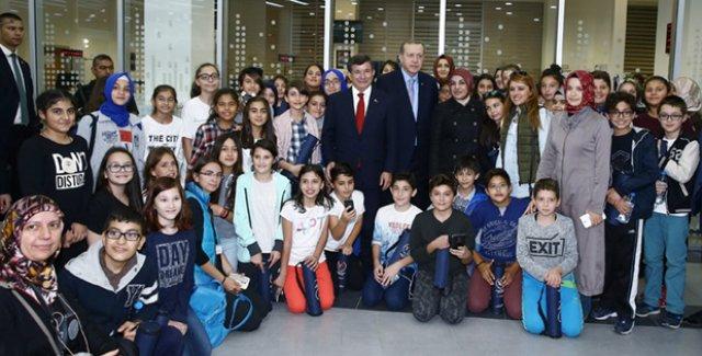 Cumhurbaşkanı Erdoğan, Meram Belediyesi Hizmet Binasının Açılışını Yaptı
