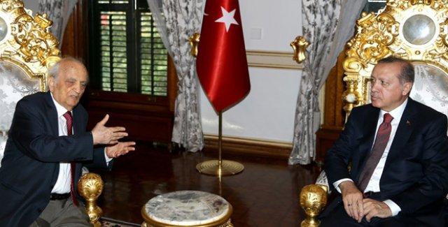 Cumhurbaşkanı Erdoğan, Prof. Dr. Fuat Sezgin'i Kabul Etti