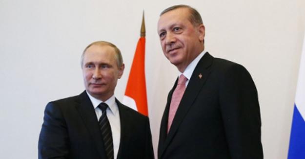 Cumhurbaşkanı Erdoğan Putin İle Telefon Görüşmesi Yaptı