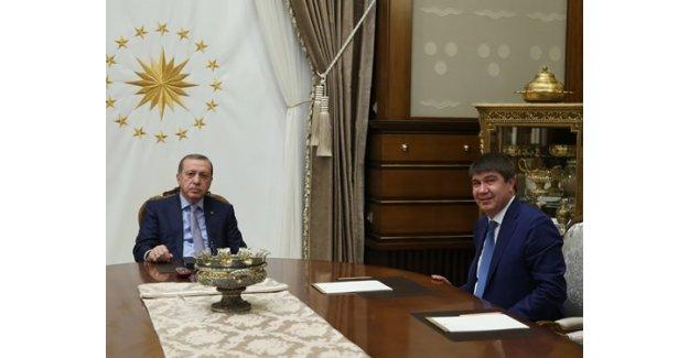 Cumhurbaşkanı Erdoğan, Türel'i Kabul Etti