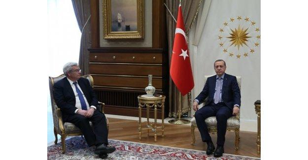 Erdoğan BNP Paribas Yönetim Kurulu Başkanını Kabul Etti