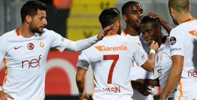 Galatasaray Tek Golle 3 Puanı Kaptı