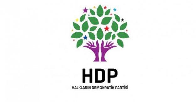 HDP: Siyasi Partinin Yöneticisi Olmak Hedef Alınma Nedeni Olamaz