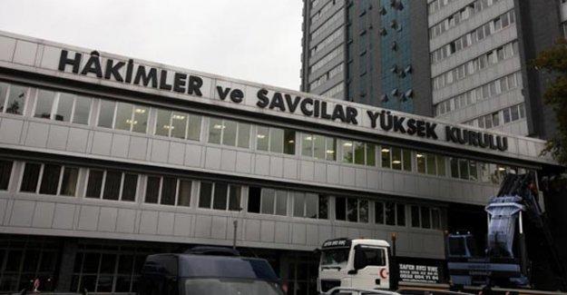 HSYK 184 Hakim Ve Savcıyı Açığa Aldı