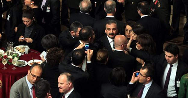 Kılıçdaroğlu, Yeni Yasama Yılı Resepsiyonuna Katıldı