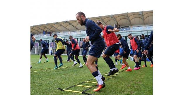 Osmanlıspor, Bursaspor Maçı Hazırlıklarına Tek Antreman İle Devam Etti