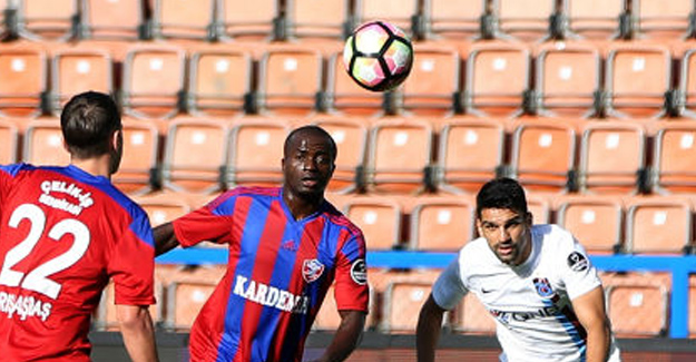 Trabzonspor Kardemir Karabükspor'dan Fark Yedi