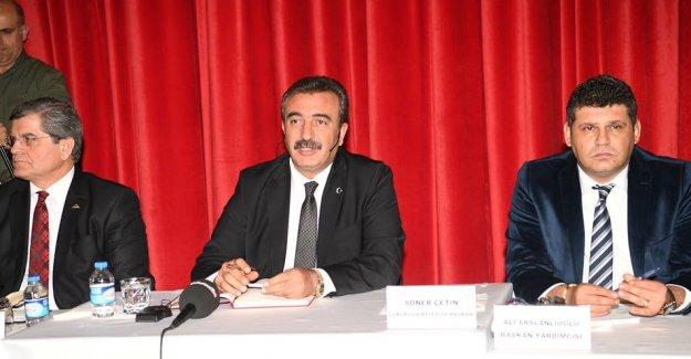 Çukurova Belediye Başkanı Çetin: Türkiye'yi Böldürtmeyeceğiz