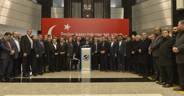 STK'lardan Kayseri'de Teröre Ortak Tepki