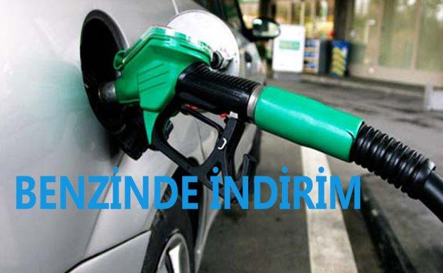 Benzin'de 5 Kuruş İndirim
