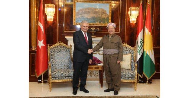 Başbakan Binali Yıldırım'dan Irak'a Terör Mesajı