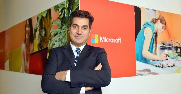 Microsoft'ta Bayrak Değişikliği