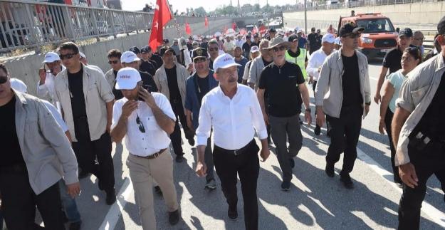 Kılıçdaroğlu: İstanbul'a Kadar Kararlılıkla Yolumuza Devam Edeceğiz