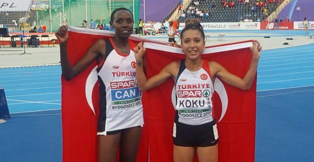 U23 Atletizm Şampiyonası'nda Yasemin Can Altın, Büşra Nur Koku da Bronz Kazandı