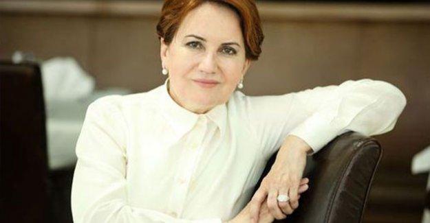 Akşener: Kılıçdaroğlu'nu Tamamlayacağı 'Adalet' Yürüyüşü İçin Kutlarım