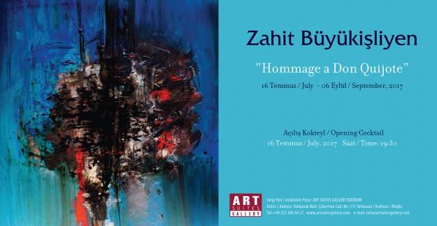 """Art Suites Gallery Bodrum'da Büyükişliyen'in """"Hommage A Don Quijote"""" Sergisi 16 Temmuz - 6 Eylül Arasında"""