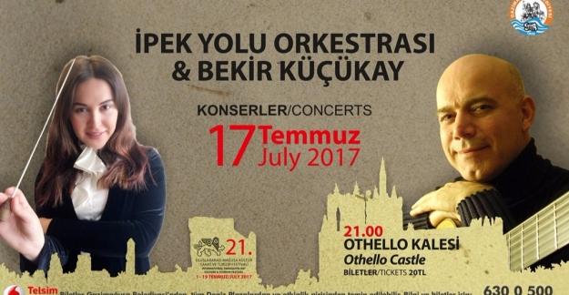 Azerbaycanlı Piyanist -Şef İpekyolu Orkestrası İle Sahnede