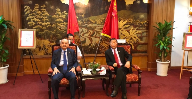 Bakan Müezzinoğlu, 7. Türkiye - Vietnam Karma Ekonomik Konseyi Toplantısına Başkanlık Etti