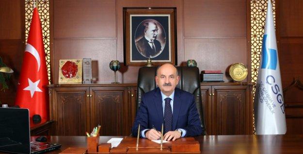 Bakan Müezzinoğlu'ndan 15 Temmuz Demokrasi Ve Milli Birlik Günü Mesajı