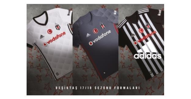 Beşiktaş 3 Yıldızlı Formaları Tanıttı
