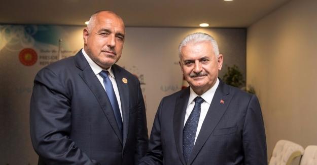 Başbakan Yıldırım Bulgaristan Başbakanı Borisov İle Görüştü