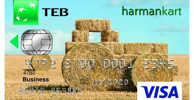 """Çiftçilere Özel """"TEB Harman Kart"""""""