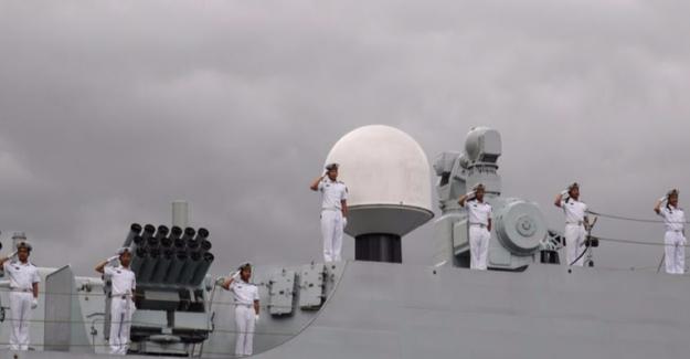 Çin Deniz Filosu İstanbul'a Ulaştı