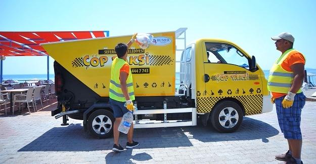 Çöp Taksi Yaz Sonuna Kadar Hizmette