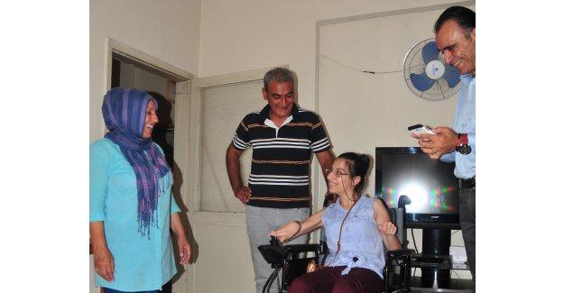 Çukurova Belediye Başkanı Çetin, Mersinli Ceren'in Yüzünü Güldürdü