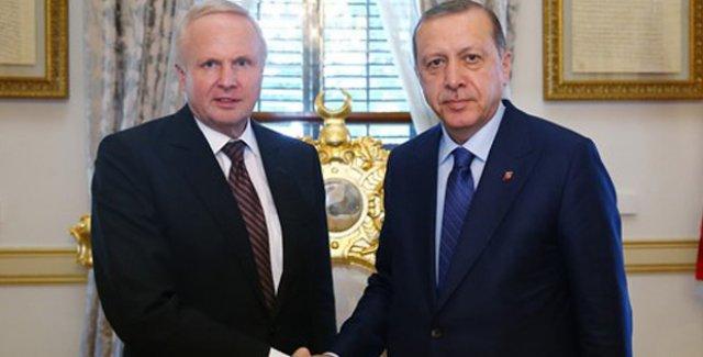 Cumhurbaşkanı Erdoğan, BP Grup CEO'su Dudley'i Kabul Etti