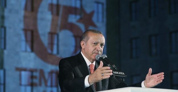 Cumhurbaşkanı Erdoğan: OHAL Pazartesi Gündeme Gelecek