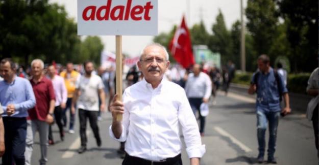 Kılıçdaroğlu Adalet Yürüyüşü'nün 23. Gününde Avrupa Parlamentosu'na Seslendi