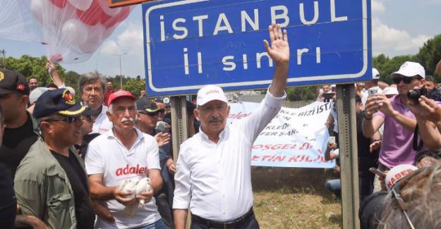 Kılıçdaroğlu İstanbul'a Giriş Yaptı